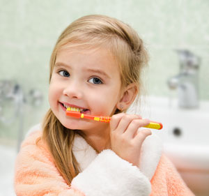 Brushing Teeth - Pediatric Dentist in Rochester, MN